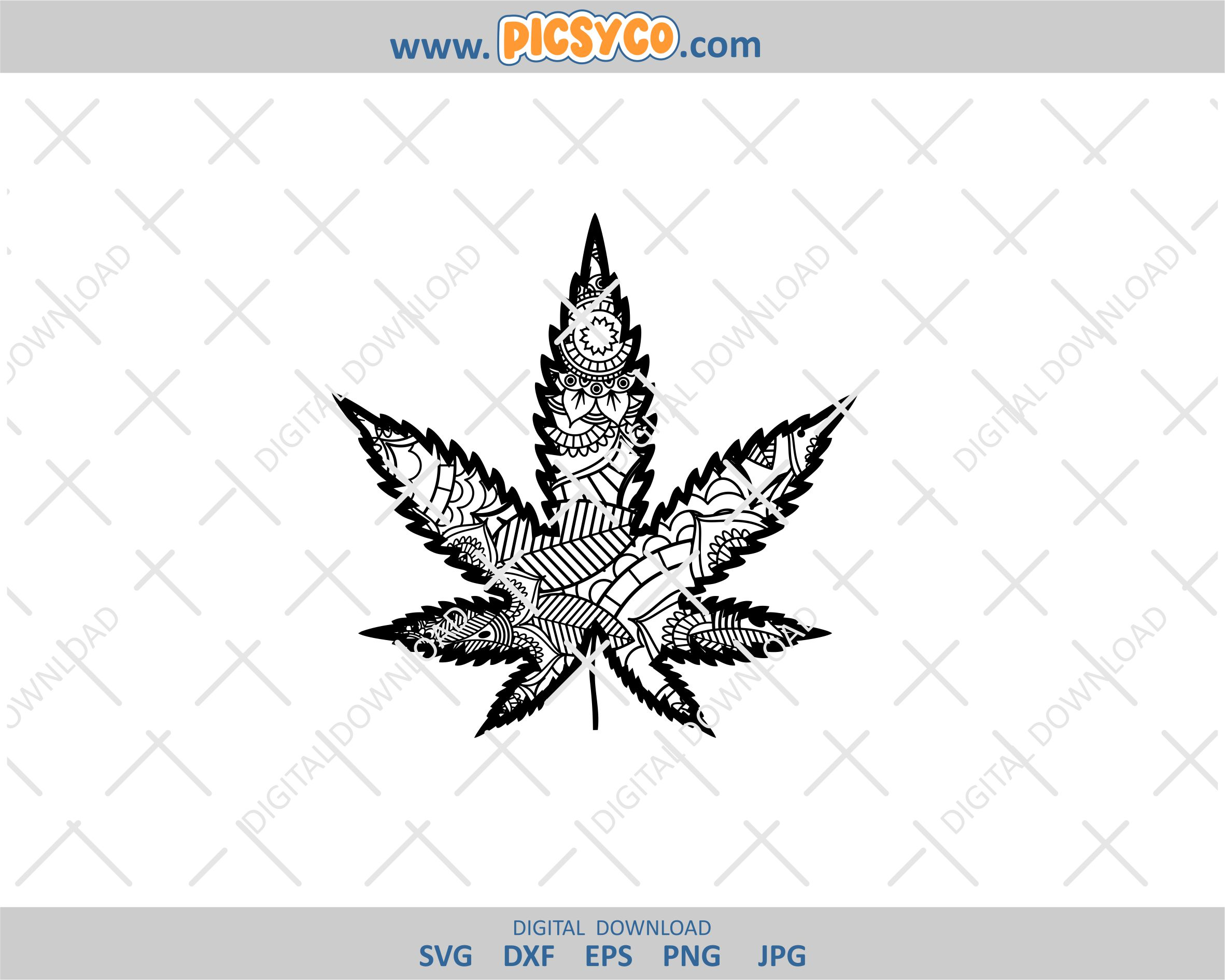 Cannabis Mandala Svg Marijuana Svg Cannabis Svg Design Svg Free Files Download Mandala Svg Zentangle Svg Mandala Files Mandala Cut Files Svg Png Picsyco