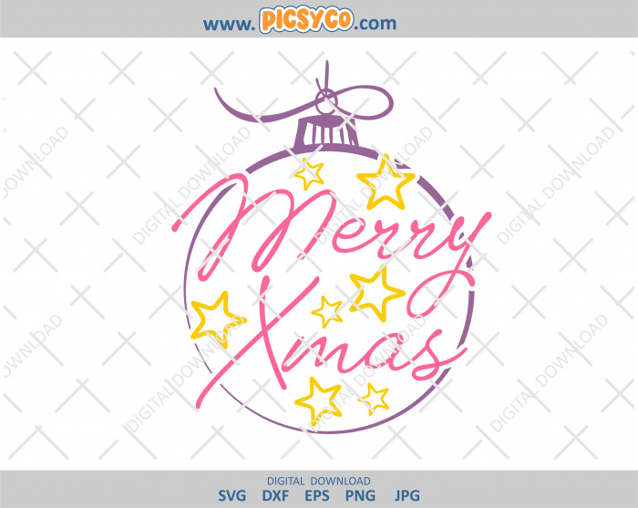 Get Merry Christmas Truck | Cut File Design