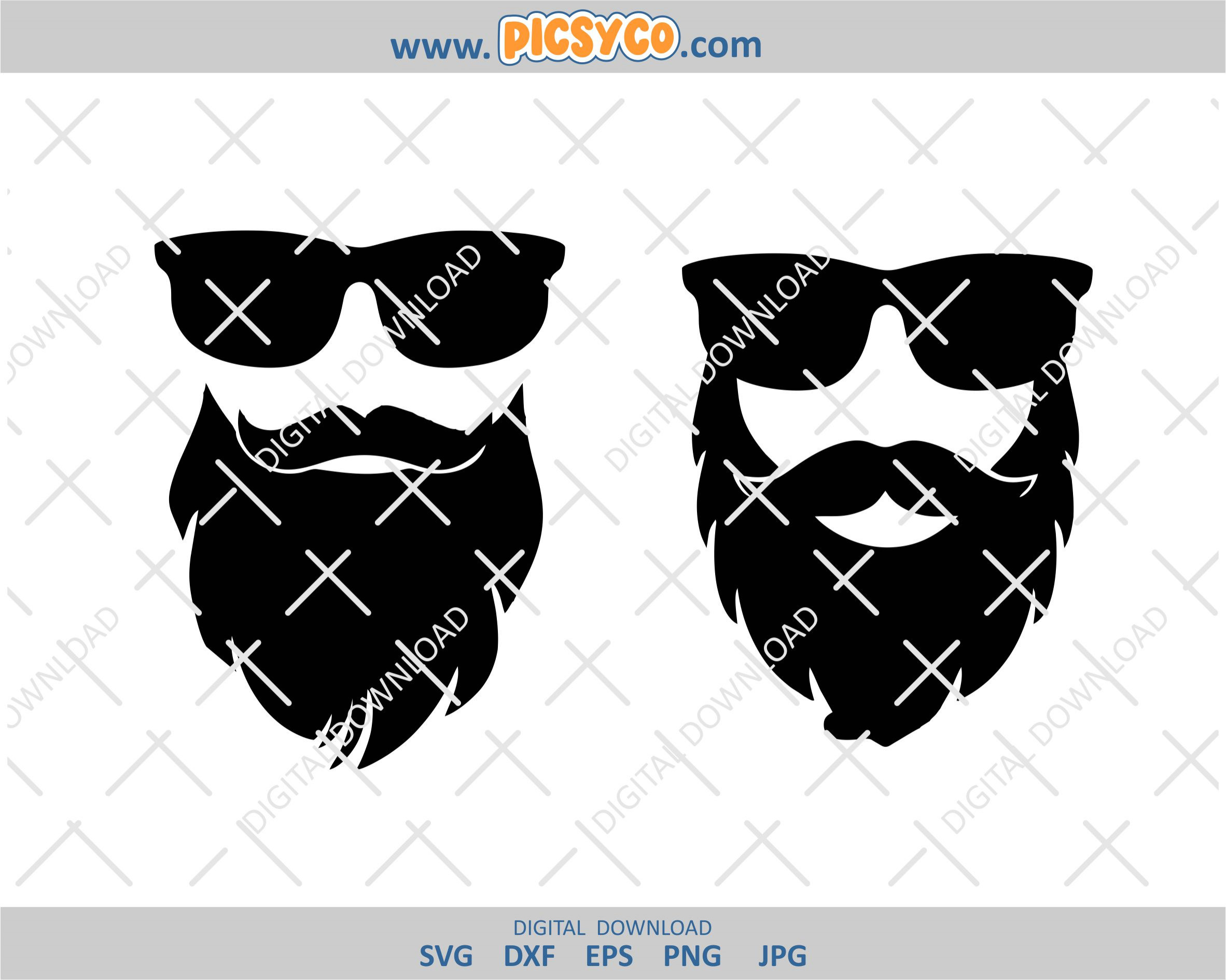 Free This is digital artwork ready for immediate download and ready to be use on such software as cricut design space, silhouette studio and other cutting software. Bearded Man Svg Fathers Day Svg Best Dad Png Dad Svg Beard Png Family Shirt Picsyco SVG, PNG, EPS, DXF File
